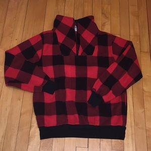 Vintage Buffalo Plaid Fleece Synchilla Jacket